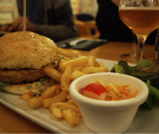 Bollywood burger - Le Bellerose