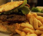 Cheese burger - Le Bellerose