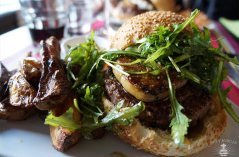 Le Beef Rossini Burger - Le Cut
