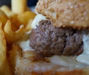 Burger en gros plan - Bun's Bazaar
