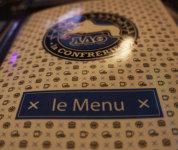 Le menu - La Confrérie