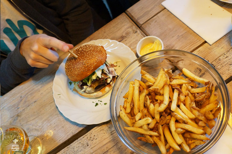 Le Mother burger et ses frites - Le Mother Lille