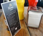 Louis'burger bar - La carte