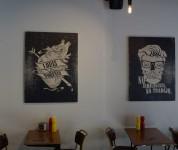 Louis'burger bar - Le mur 2
