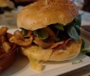 Pol'Art - Burger Jaune dessus