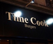 Time Cook - Le logo façade