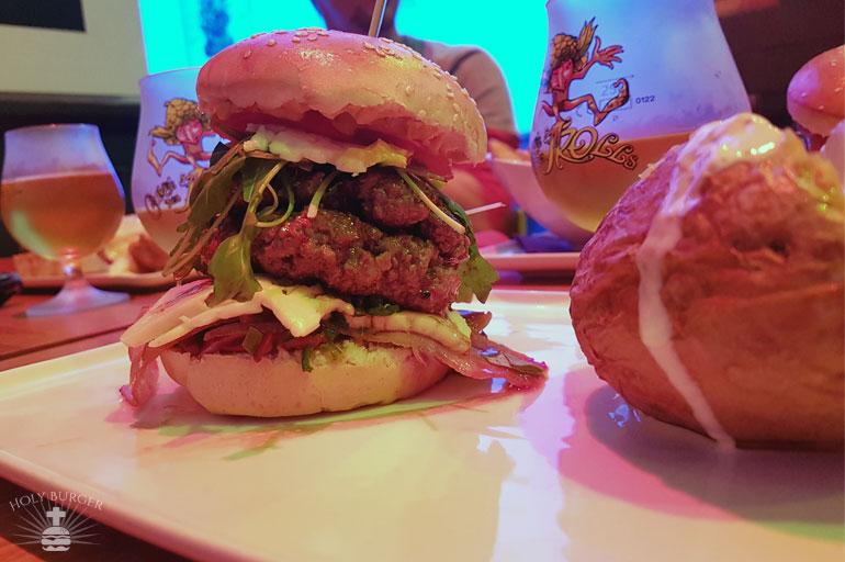 Pixies - le burger custom qui déborde