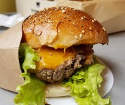 Le comptoir Volant - le burger Original
